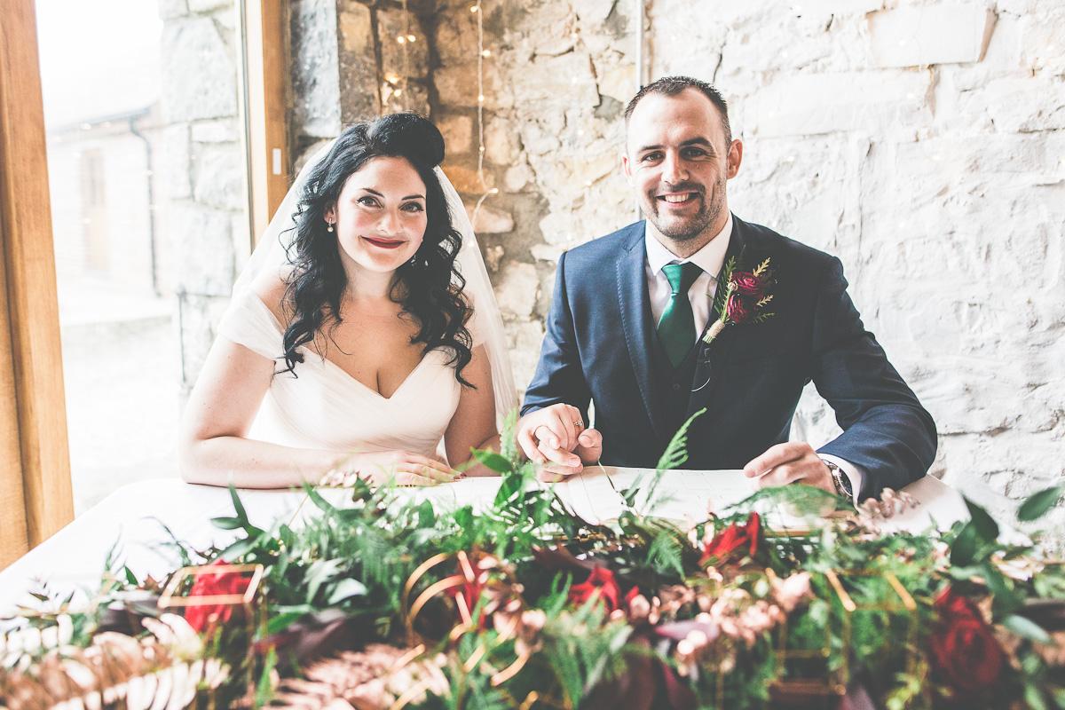 Winter Wedding Bride Vintage Style